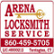 Arena Locksmith CT Logo